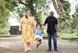 Hynson family in Costa Rica